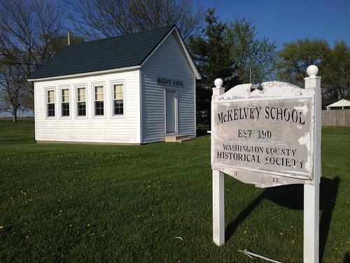 illinois nashville oneroomschoolhouse mckelveyschool