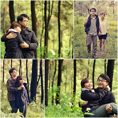 Rendra-Ajeng engagement photoshoot