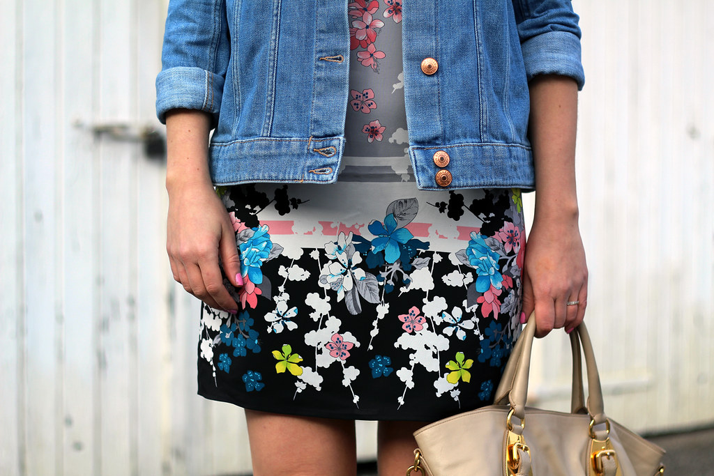 oasis flower dress peperosa sneakers