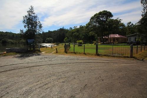 Parking Area, Steven Rich Reserve, Bundabah, near Tea Gardens, NSW, 17.4.2015