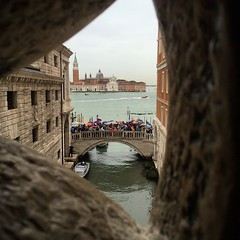 The view from prison #venice #tourist