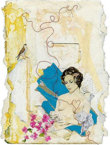 Woman Collage. Randy Mora.