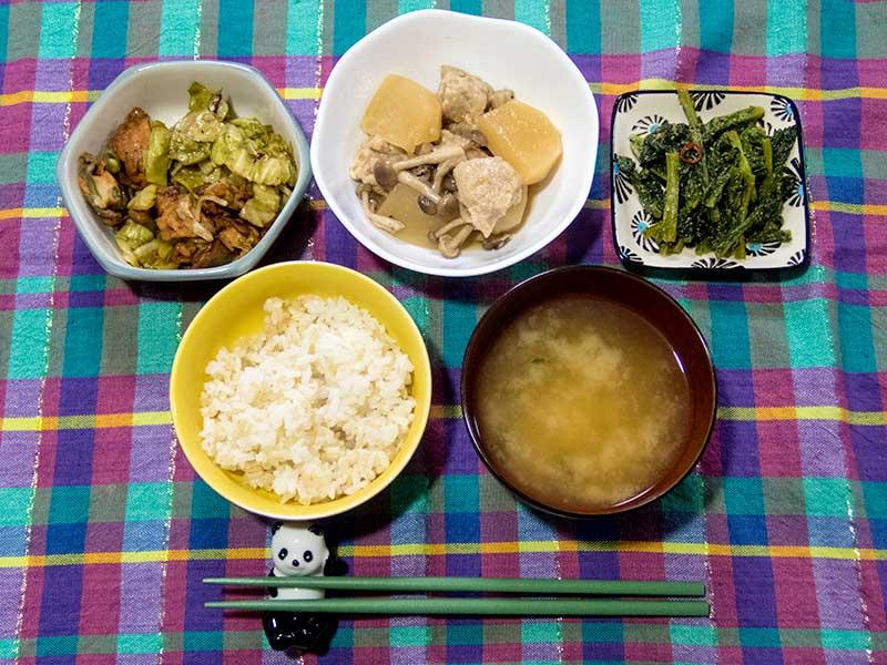 2016年5月21日の晩ご飯