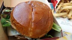 Bacon Mozzarella Burger.