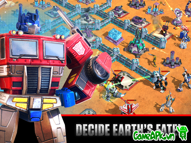 Transformers: Earth Wars v1.30.0.13615  hack full cho Android