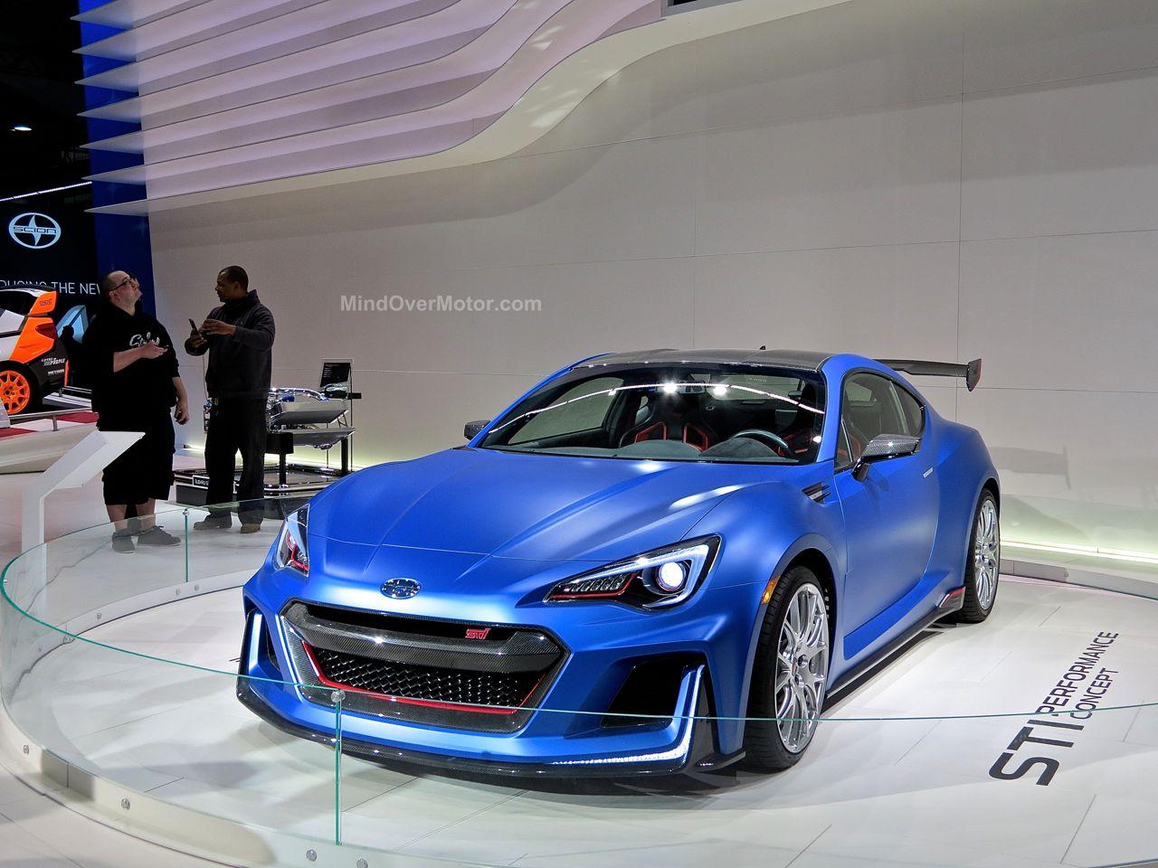 NYIAS 2015 Subaru BRZ STI Concept