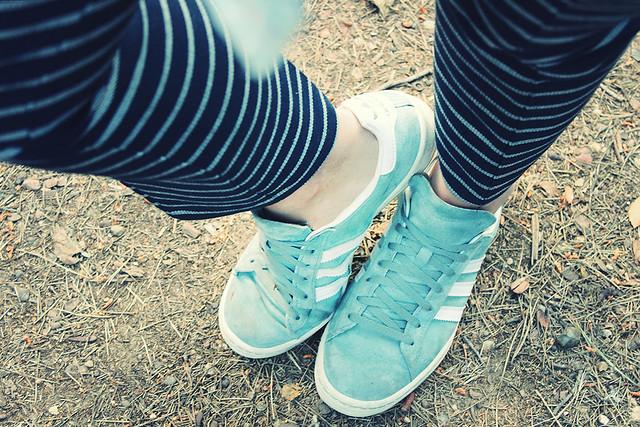 Look stripes pants