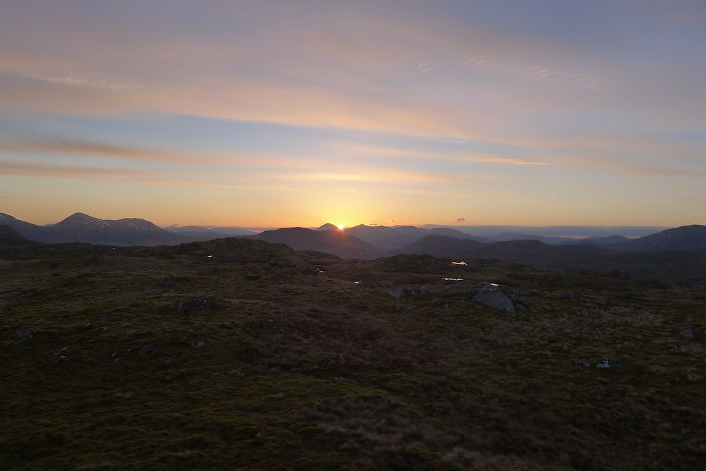 First light from Beinn Bhas