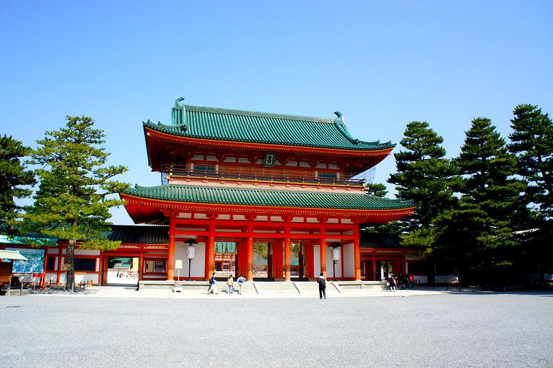 應天門/平安神宮(Heian-jingu Shrine / Kyoto City) 2015/03/17