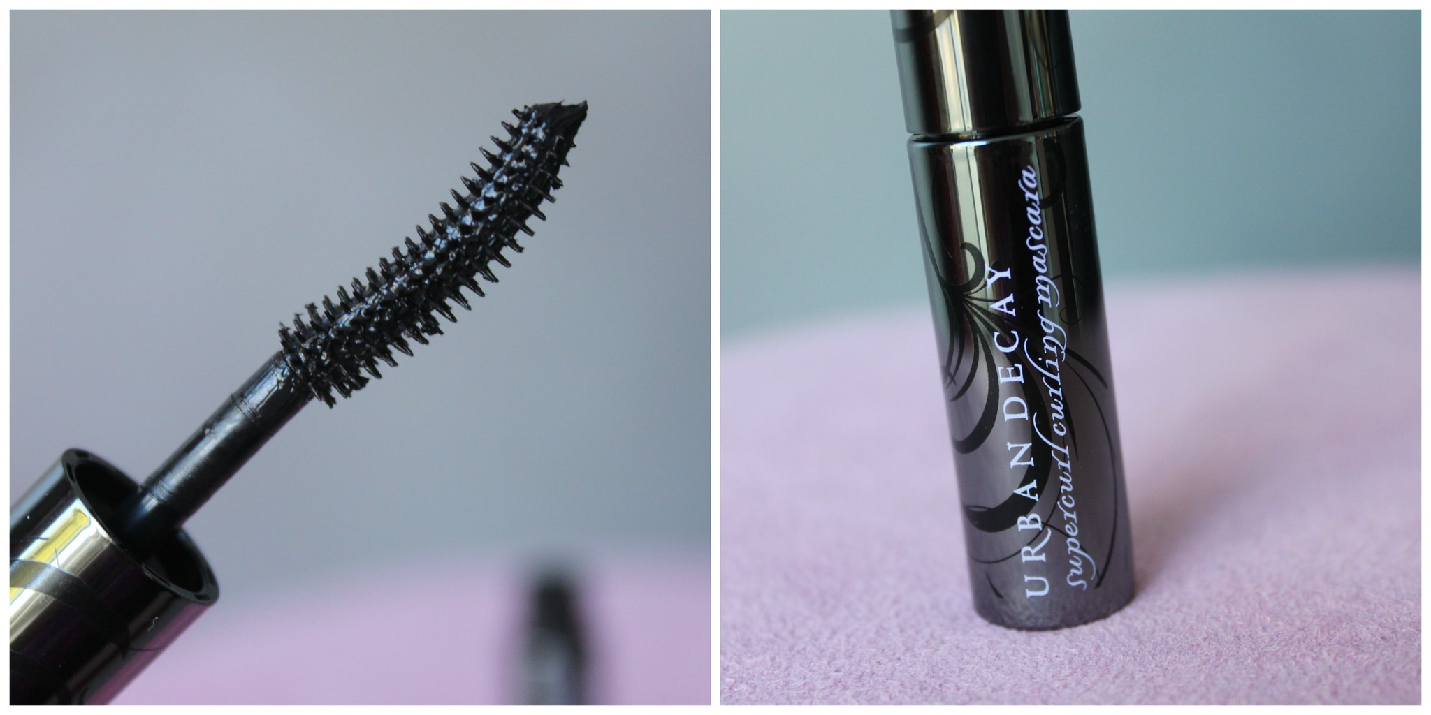 Urban Decay Super Curling Mascara Australian Beauty Review blog blogger ausbeautyreview aussie mecca maxima makeup cosmetics black ud