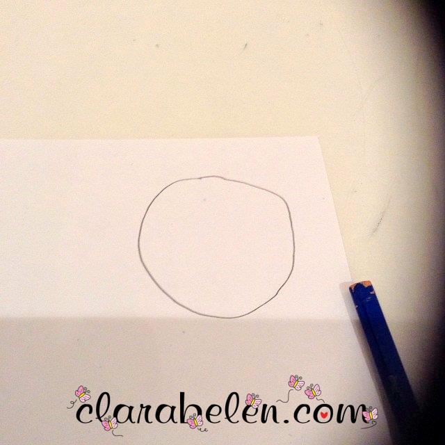 Como hacer un caracol de papel albal y papel