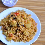 Anjappar biryani recipe using vegetables