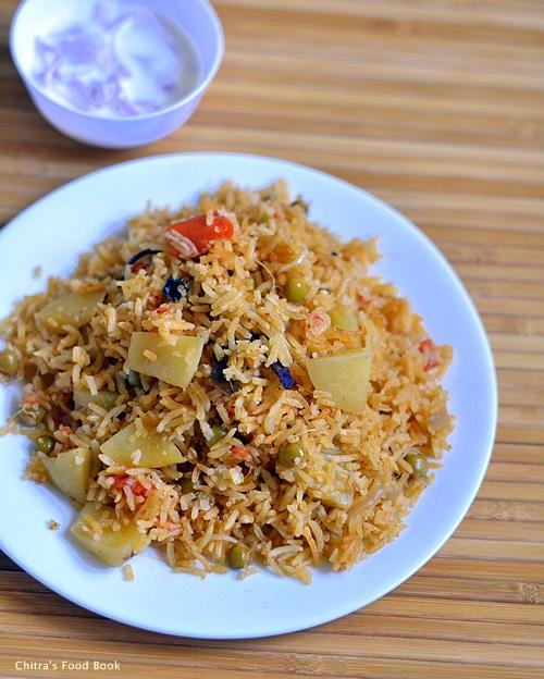 Anjappar biryani recipe