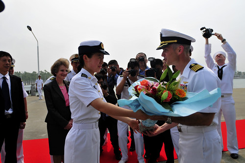 Blue Ridge Arrives in Zhanjiang to Promote Maritime Cooperation