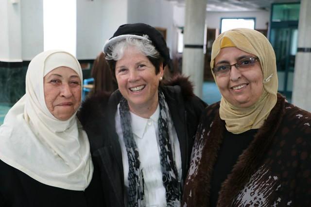 Women united: Um Raed, Elana Rozenman, Ibtisam Mahamid