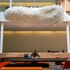 Ping Pong Ball Cloud at Airbnb, Tripit & Pinterest Building by nan palmero