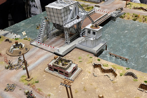 Pegasus Bridge Table at Salute 2015