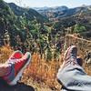 Never stop exploring  #wild #nature #hiking #wildwoodcanyon #losangeles #socal #california #tw #lasportiva #hisandhers #beauty #fitfam