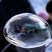 Soap Bubble Reflection by Gyom D.