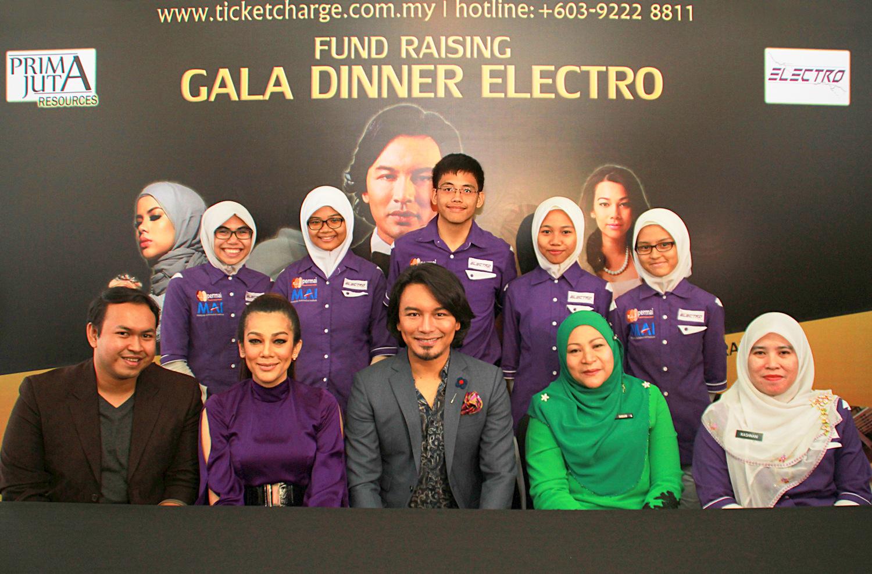 Anuar Zain & Alyah Bakal Jayakan Majlis Makan Malam ELECTRO