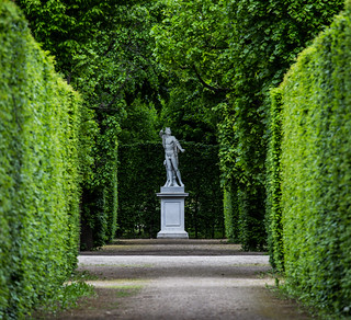 Wien / Schönbrunn: Im Schlosspark