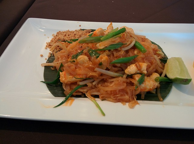 Soy-Shrimp Pad Thai from The Tha on Bloor