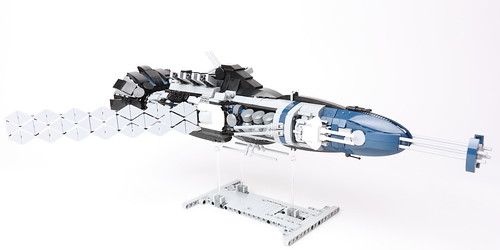 Galactic Nautilus - Side View