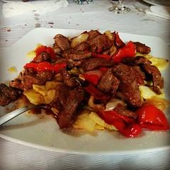 Carne richada de furancho...