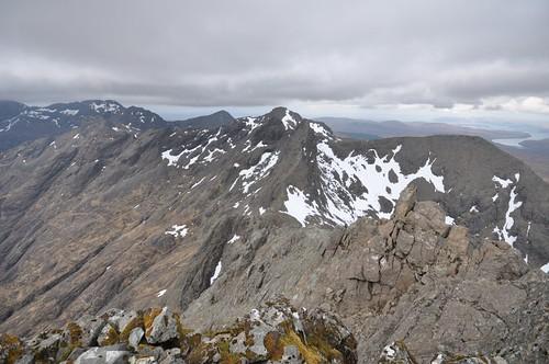 Pinnacle Ridge from Sgurr nan Gillean