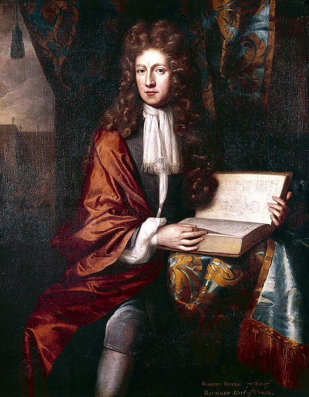 PoPortrait of The Honourable Robert Boyle