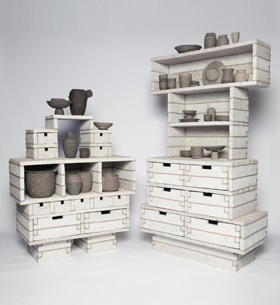 Debbie Wijskamp paperpulp_cabinets6
