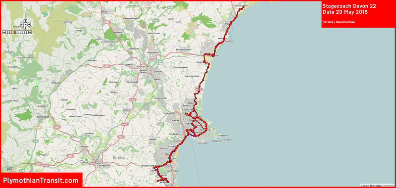 2016 05 29 Stagecoach Devon Route-022 Traveline Map.jpg