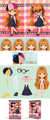Promo pics blythe doll Les Jeunette