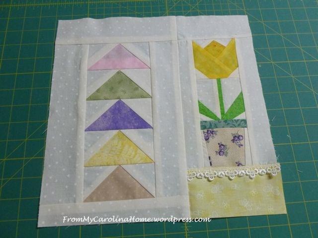 Spring Mini Quilt - 4-2