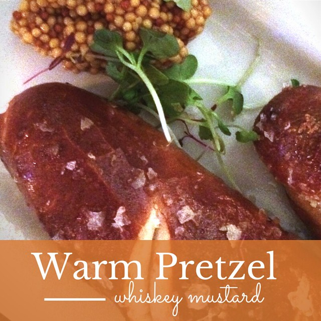 Witherspoon Grill Warm Pretzel