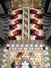 mosaic in the main nave