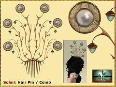 Bliensen - Soleil - Hair Pin Kopie