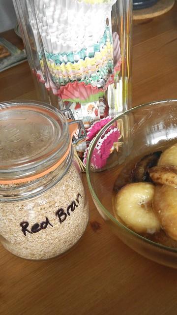 Banana Oat Bran Muffins 1