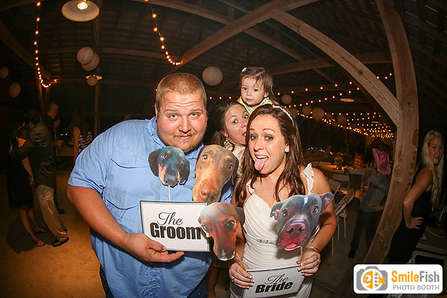 Caldwell Barn Reception Florida Agricultural Museum Wedding Photo Booth