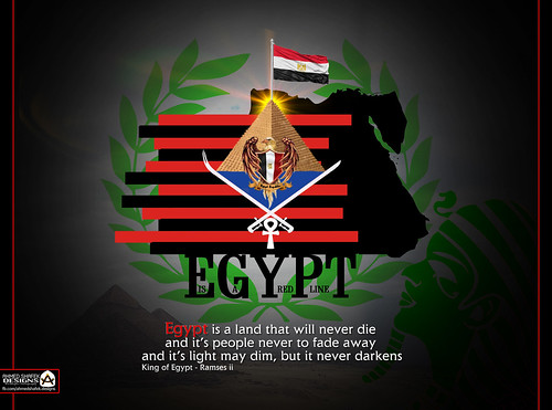 EGYPT , is the red line