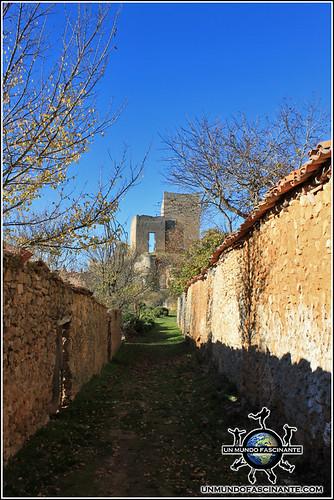 Castillo de Calatañazor, Soria. España.