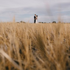 James, Anna and some wheat 🌾