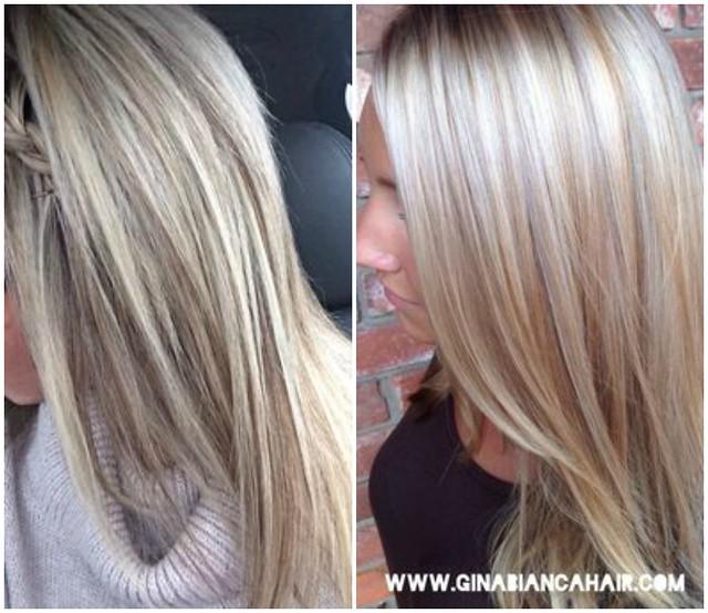 platinum blonde highlights  3