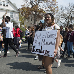 Black Lives Matter student march on May Day