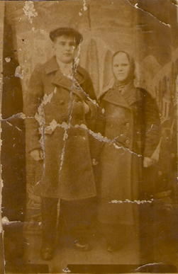 Дедо Саша и баба Оня до войны