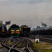 Trenes cerca de la estacion de Ribinsk by Bogdan Korolev