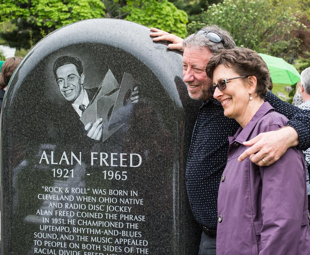 Alan Freed Jr. - Alan Freed memorial dedication - Lake View Cemetery - 2016-05-07