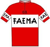 Faema - Giro d'Italia 1957