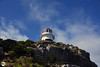 The old lighthouse at the top of Cape Point