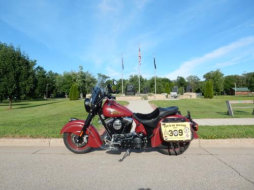 07-15-2016 Ride Tour Of Honor WI6 - Veterans Memorial Muscoda,WI